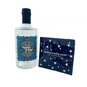 Ruddy Fine London Dry Gin with Interstellar Mask