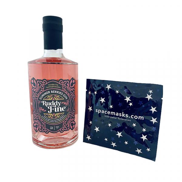 Ruddy Fine Summer Berries Pink Gin and Interstellar Mask